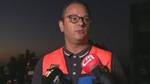 """""""Um excelente ser humano"""": Presidente da Câmara de Leiria sobre bombeiro que morreu em operações de vigilância"""