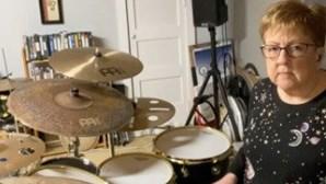 De Slipknot a Paramore. A 'avózinha' baterista que está a dar que falar