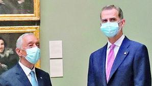 Marcelo e Felipe VI encontram-se quinta-feira na Galiza antes do Fórum La Toja