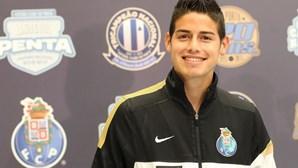 Ex-FC Porto James Rodríguez apontado ao Benfica