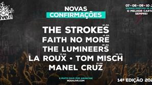 Faith No More e The Strokes confirmados no NOS Alive 2021