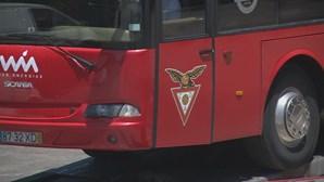 Autocarro do Desportivo das Aves rebocado e bens arrestados pela GNR