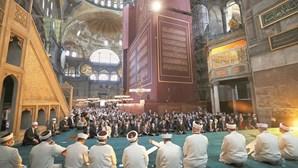Mesquita turca sobe tensão com gregos