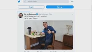 Bolsonaro testa negativo ao coronavírus e vai passear