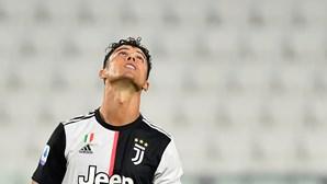 Ronaldo de luxo não chegou à Juventus para eliminar o Lyon na Liga dos Campeões
