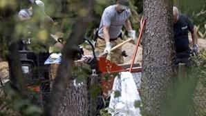 Polícia alemã encontra vestígios da cave secreta do suspeito de raptar Maddie McCann