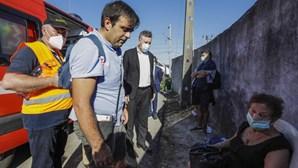 Tragédia em Soure: as imagens do acidente com comboio alfa pendular que provocou dois mortos
