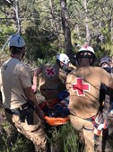 Jovem de 25 anos resgatado após queda no Gerês