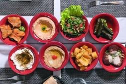 Restaurante libanês Fenícios Castilho, em Lisboa