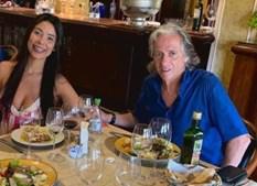 Jorge Jesus e a advogada Ana Paula Belinger