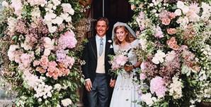 Princesa Beatrice casou-se com Edoardo Mozzi