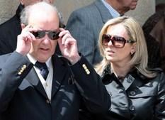 Pinto da Costa com a ex-mulher, Filomena Morais