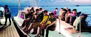 Grupo de marroquinos desembarca ilegalmente na Ilha do Farol no Algarve