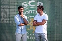 Hugo Viana e Beto podem vir a abandonar a estrutura do futebol leonino