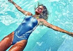 Carolina Patrocínio acusada de plagiar fato de banho