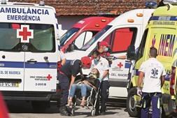 Comboio alfa colide com máquina e mata duas pessoas em Soure