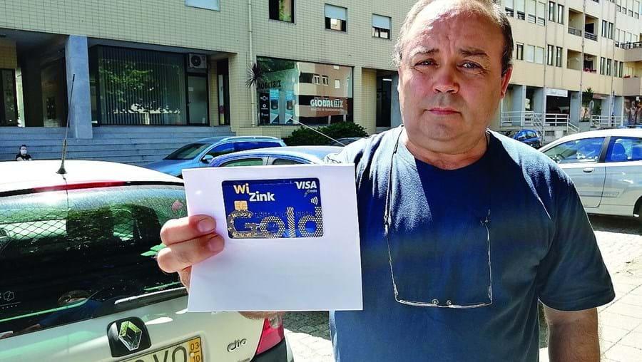 João Faria tem uma dívida de um cartão de crédito, no valor de 1 cêntimo, mas garante que nunca foi informado de tal