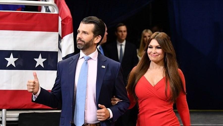 Kimberly namora com Donald Trump Jr.