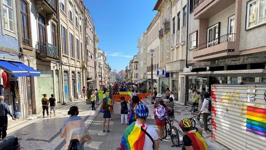 Marcha do Orgulho LGBT no Porto assinalou de forma simbólica 15 anos de existência