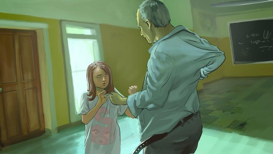 Predador condenado engravida vítima menor (Ilustração)