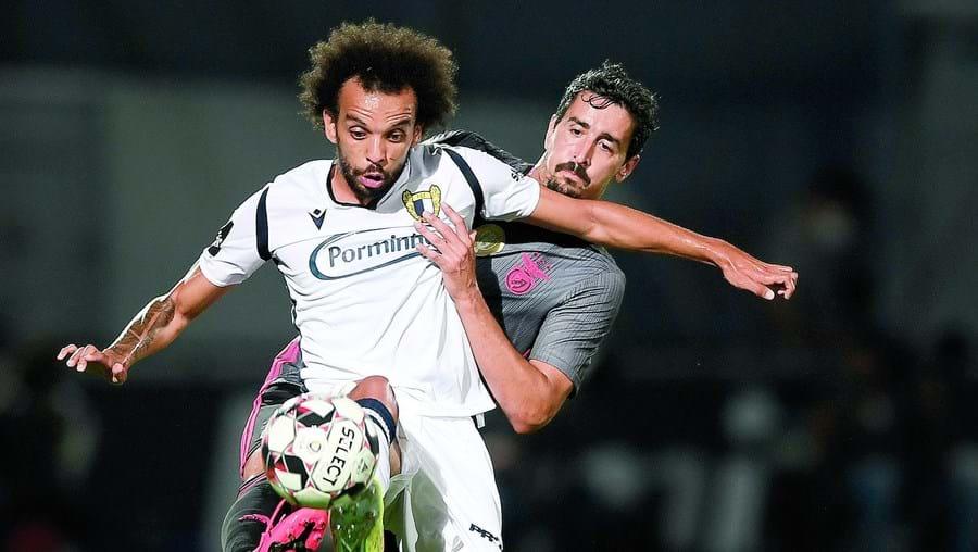 Fábio Martins tem 26 anos e está empestado pelo Sp. Braga, terminando contrato em 2022