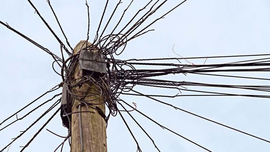 Cabos de telecomunicações, imagem ilustrativa
