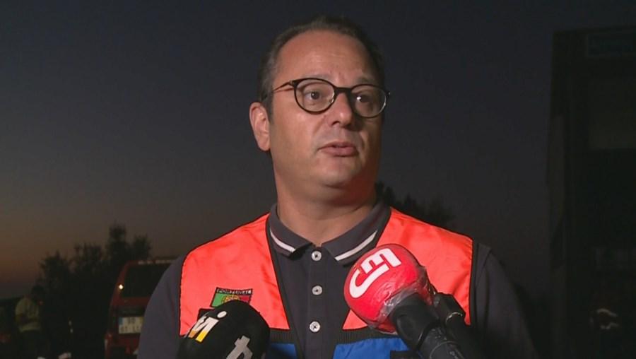'Um excelente ser humano': Presidente da Câmara de Leiria sobre bombeiro que morreu em operações de vigilância