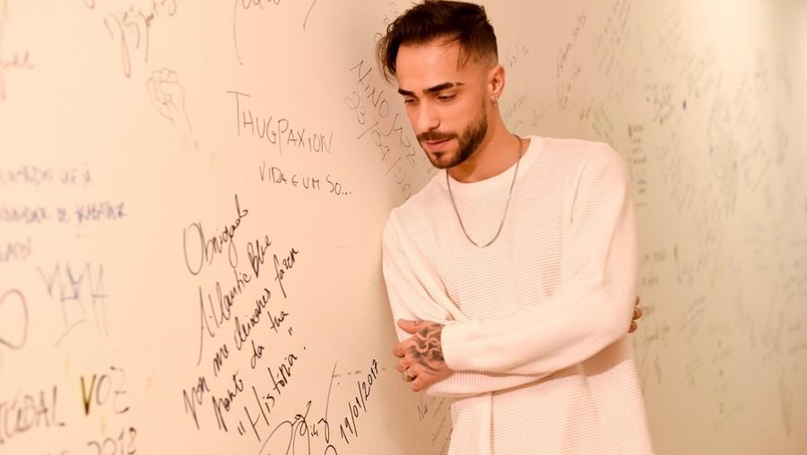 Diogo Piçarra está nomeado na categoria de Melhor Artista Masculino