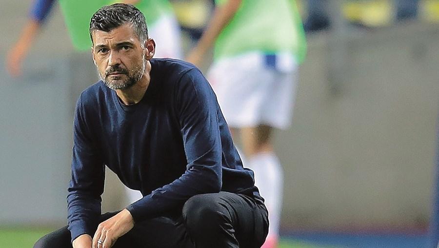 """Sérgio Conceição elogiou Fábio Vieira, mas quis lembrar também os outros jogadores da formação, que considera serem """"jovens valores seguros do FC Porto"""""""