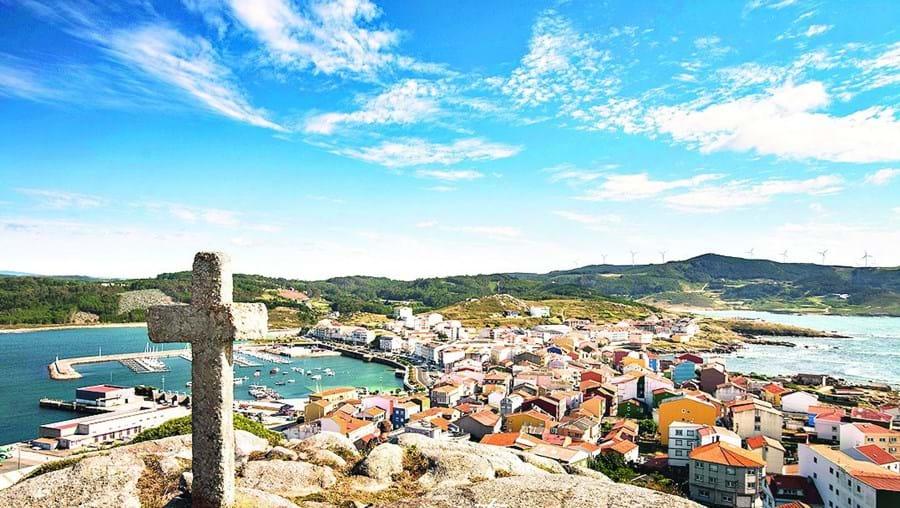 Muxía é uma vila pesqueira na costa norte da Galiza, em Espanha