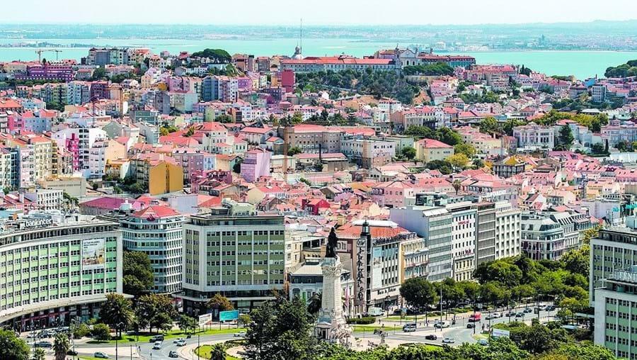 casas habitacao Lisboa rotunda marquês de Pombal