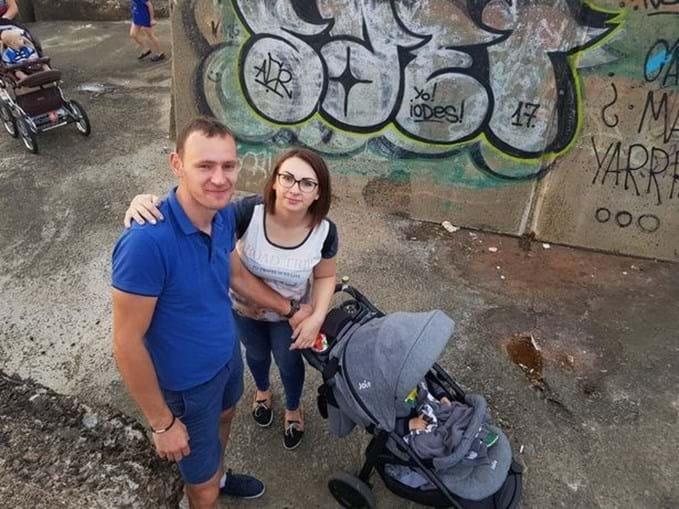Kiril e Lana tinham um filho, Oscar, de 2 anos