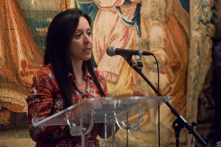 Maria da Luz Cabral,  coordenadora do grupo de trabalho do Projeto Políticas Públicas na Longevidade da SCML