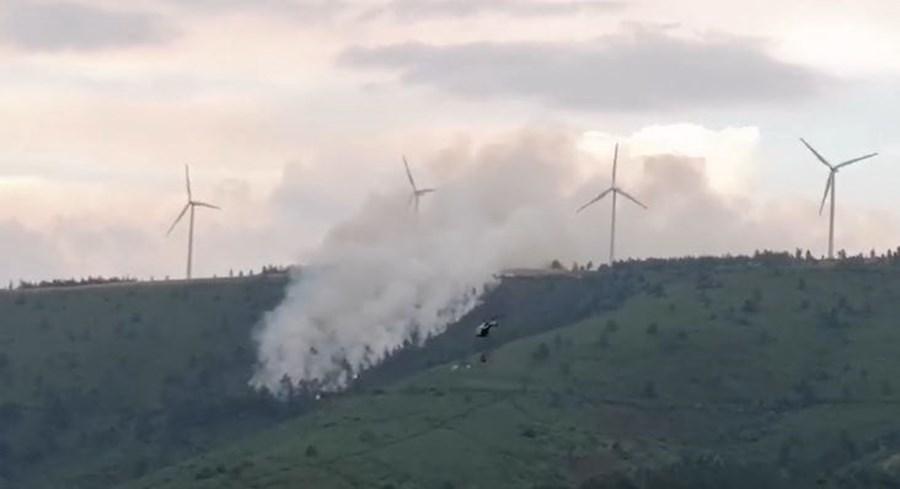 Incêndio na Serra da Lousã
