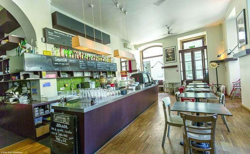 Kaffeehaus, no Chiado, em Lisboa