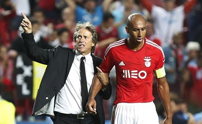 Jorge Jesus treinou Luisão durante as seis épocas em que trabalhou no Benfica