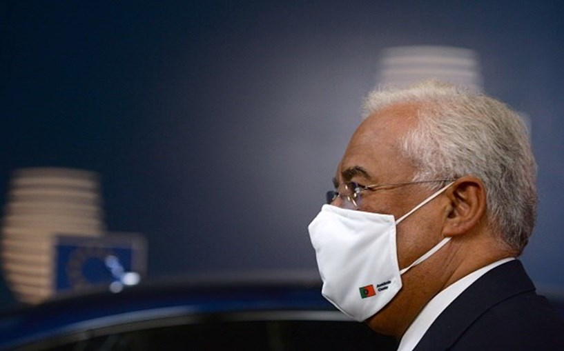 António Costa durante Conselho Europeu