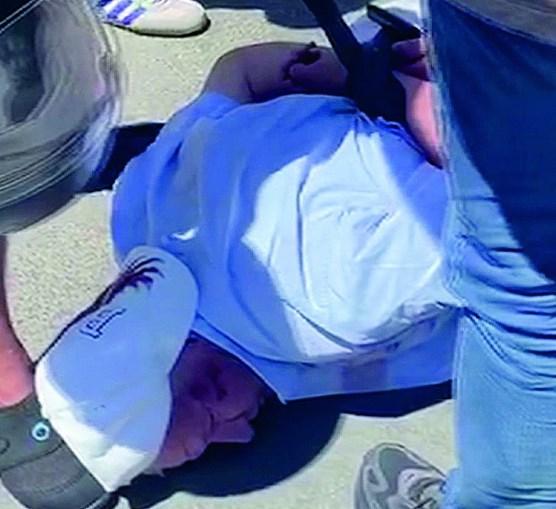 Evaristo Marinho, de 76 anos,  foi agarrado por populares após o crime