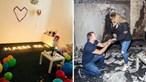 Pede namorada em casamento depois de incendiar casa por acidente a preparar pedido