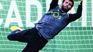 Rúben Amorim quer guerra na baliza do Sporting