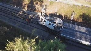 Morreram mais de 180 pessoas em acidentes de comboio nos últimos 35 anos