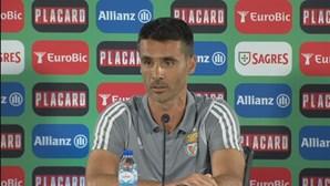 """Veríssimo deseja """"a maior sorte"""" para Jorge Jesus em último jogo como técnico interino do Benfica"""