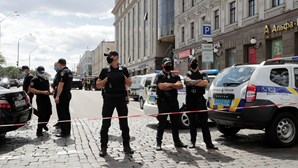 Ameaça de bomba em banco de Kiev