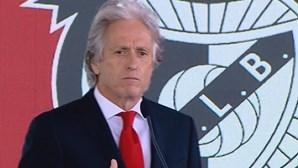 Benfica divulga equipa técnica do treinador Jorge Jesus