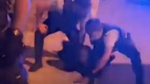 PSP dispersa com tiros para o ar multidão que impedia detenção na Amadora