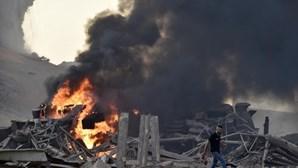 Armazém com 2.750 toneladas de nitrato de amónio na origem do desastre em Beirute