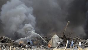 """""""Não acredito que sobrevivi"""": Os primeiros relatos do pânico vivido após explosões em Beirute"""