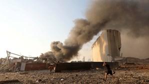 Violentas explosões provocam pelo menos 70 mortos e mais de 3000 feridos em Beirute
