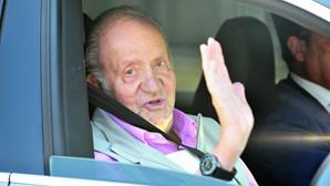 Juan Carlos em paradeiro incerto