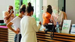 Turistas ingleses diminuem 91,1 % no Algarve
